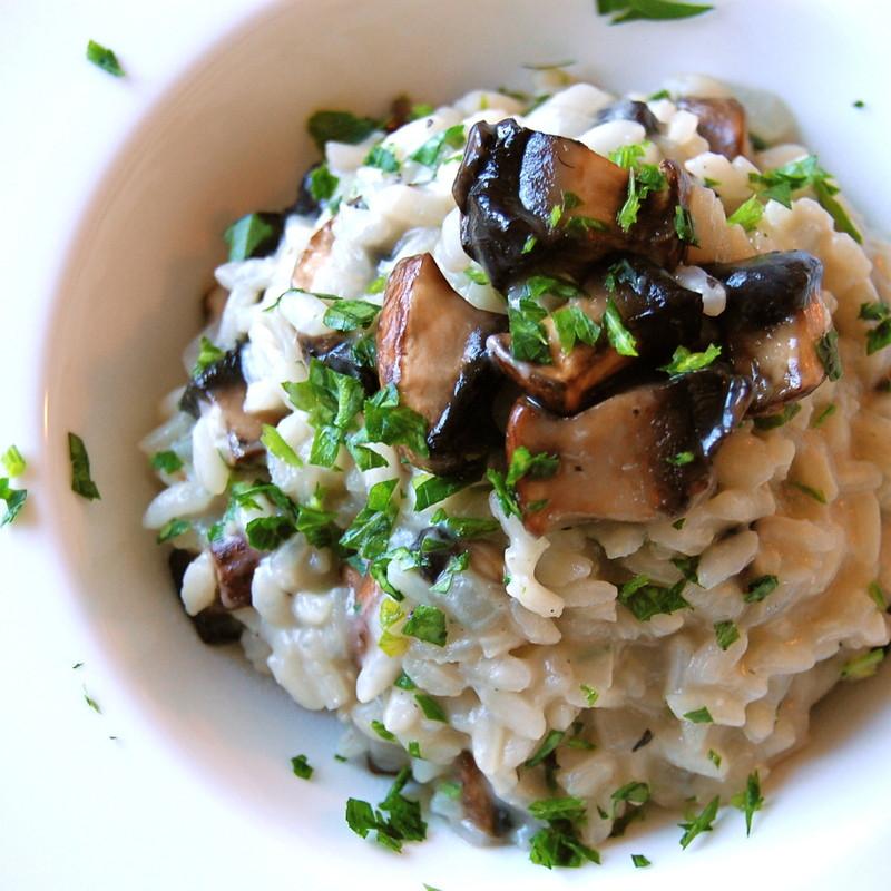 Mushroom Risotto Recipes  Mushroom Risotto Recipe Italian Food
