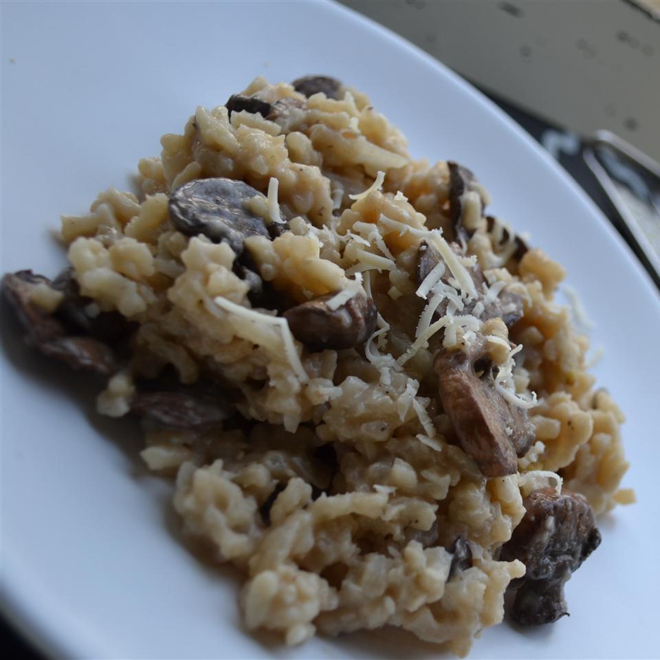 Mushroom Risotto Recipes  Mushroom risotto recipe All recipes UK
