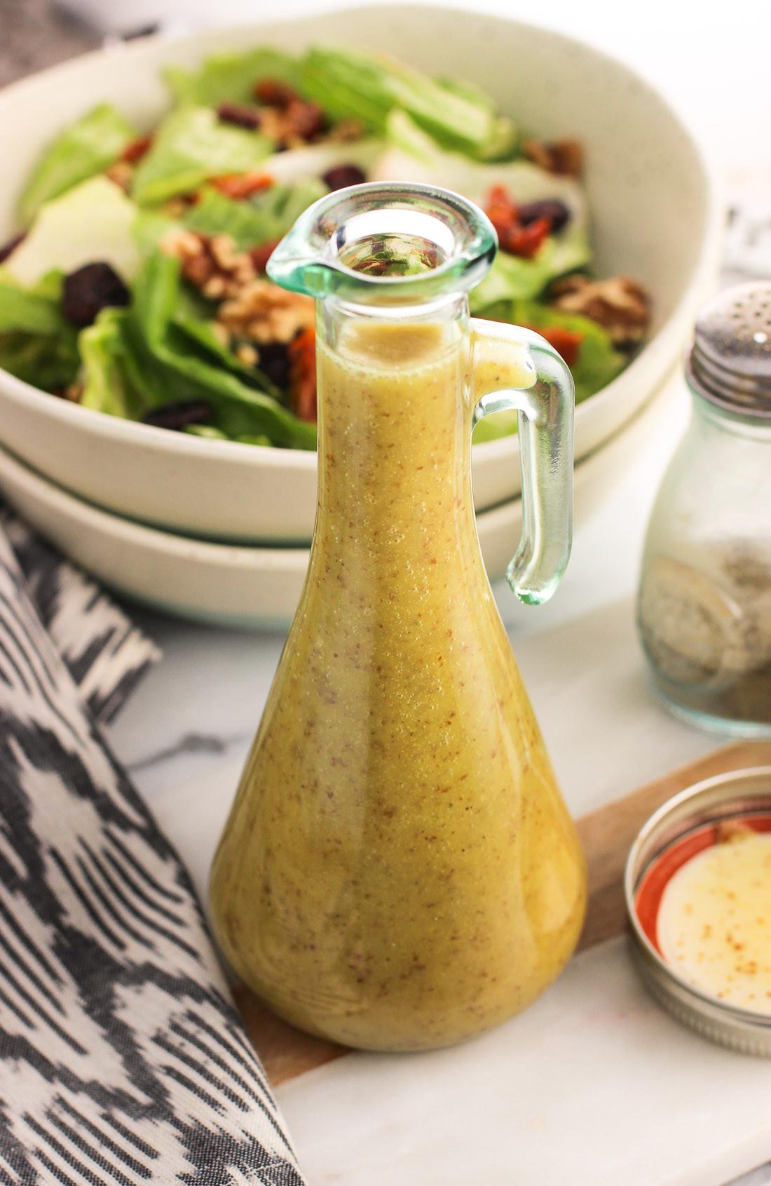 Mustard Salad Dressings  Easy Honey Mustard Vinaigrette with a Kick