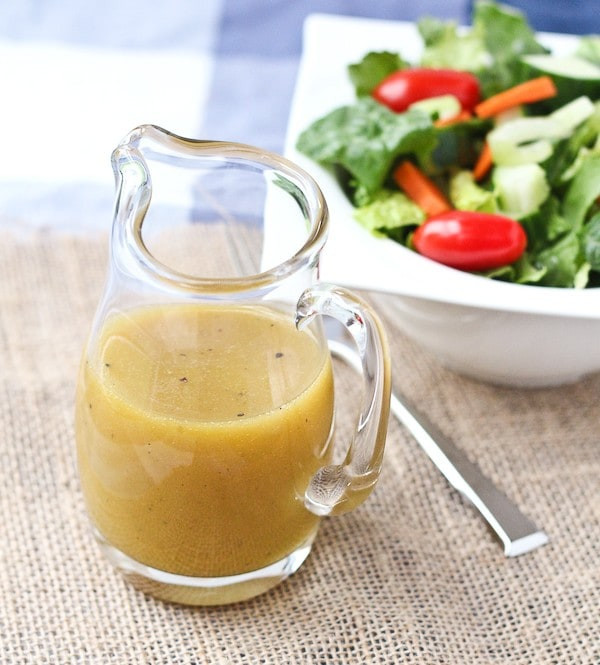 Mustard Salad Dressings  Sweet and Tangy Honey Mustard Vinaigrette