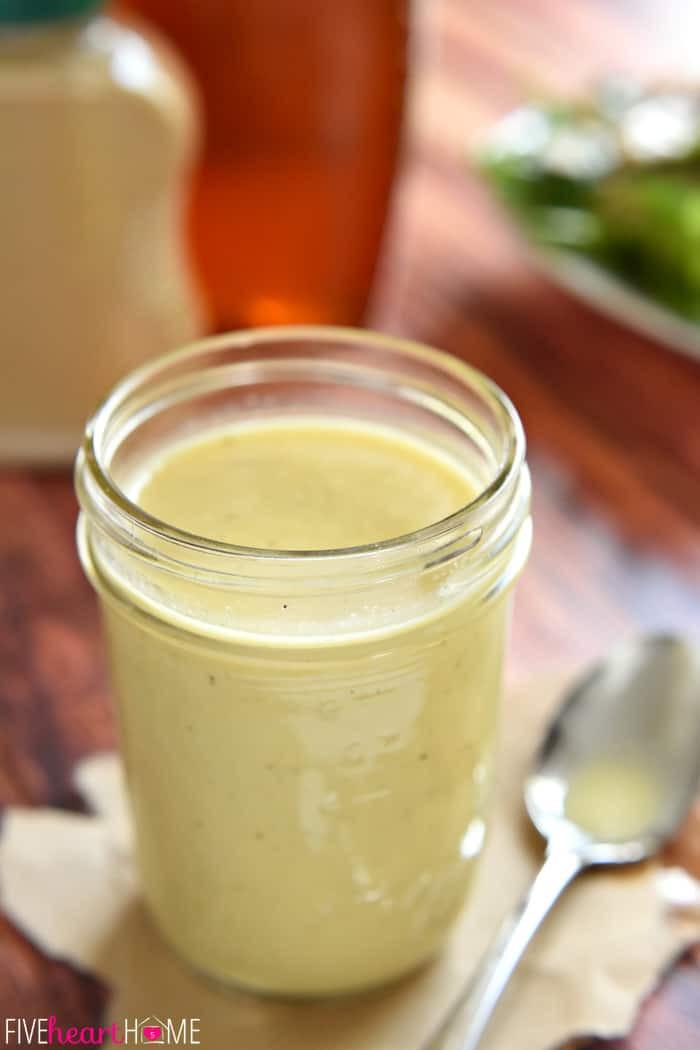 Mustard Salad Dressings  creamy honey mustard dressing