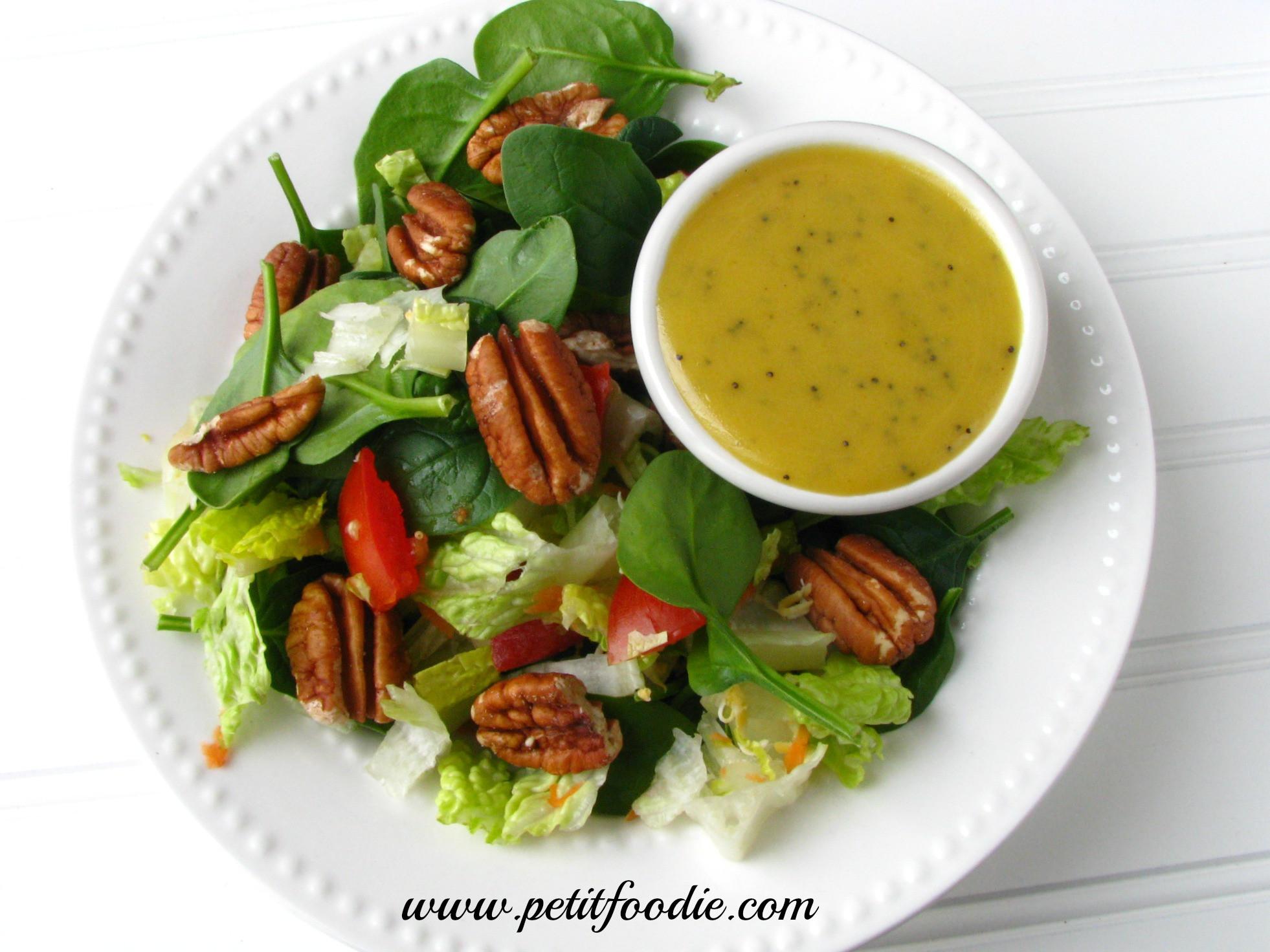 Mustard Salad Dressings  Honey Mustard Poppy Seed Dressing Petit Foo