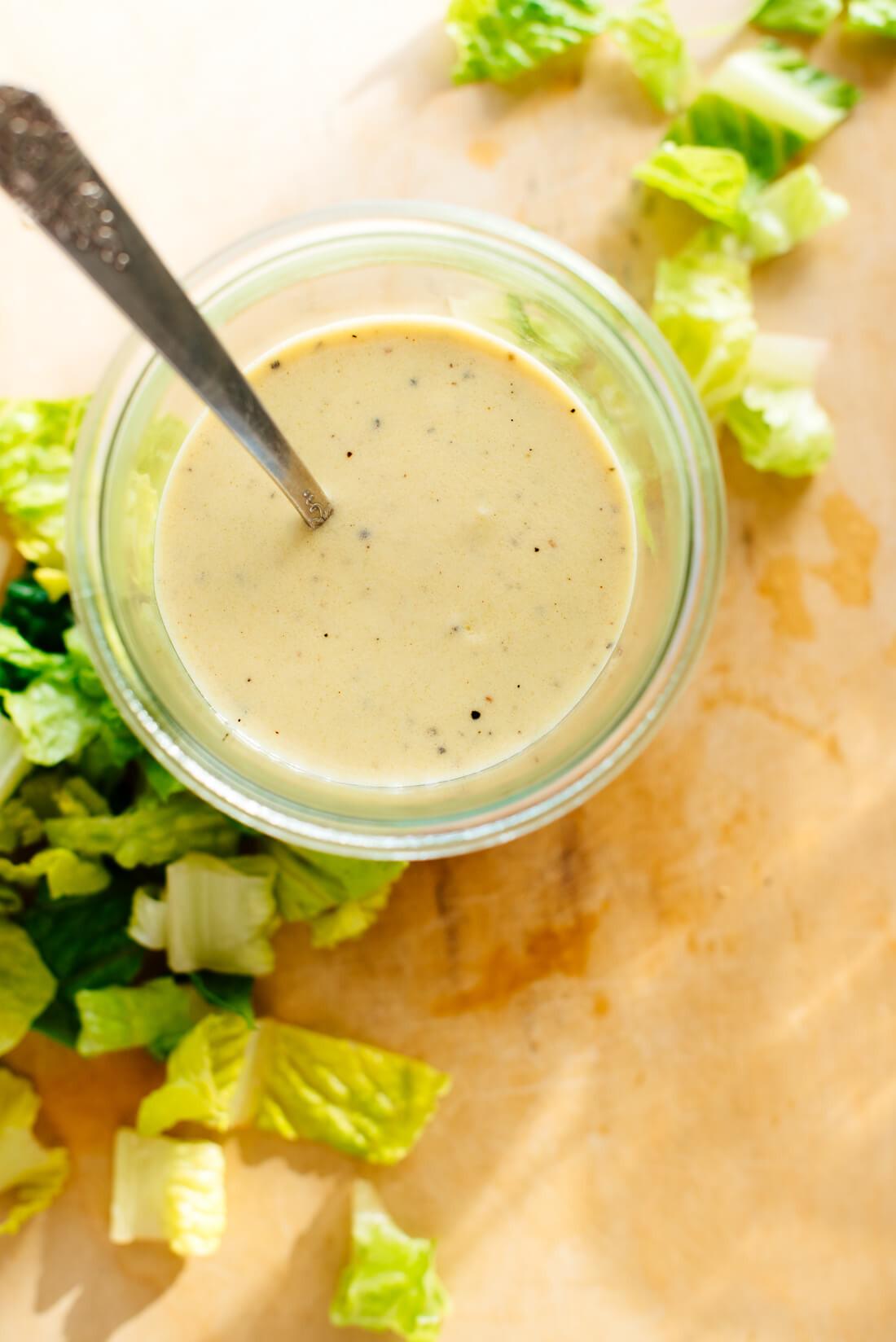 Mustard Salad Dressings  Healthy Honey Mustard Dressing Cookie and Kate