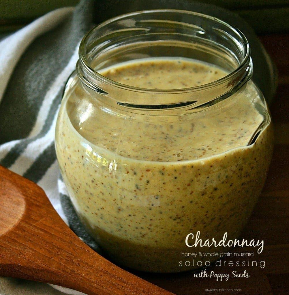 Mustard Salad Dressings  Chardonnay Whole Grain Mustard & Honey Salad Dressing