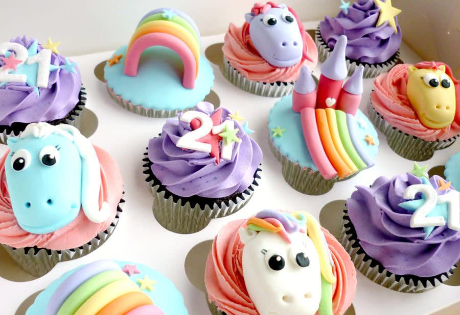 My Little Pony Cupcakes  My Little Pony cupcakes cake by Liana Star Bakery