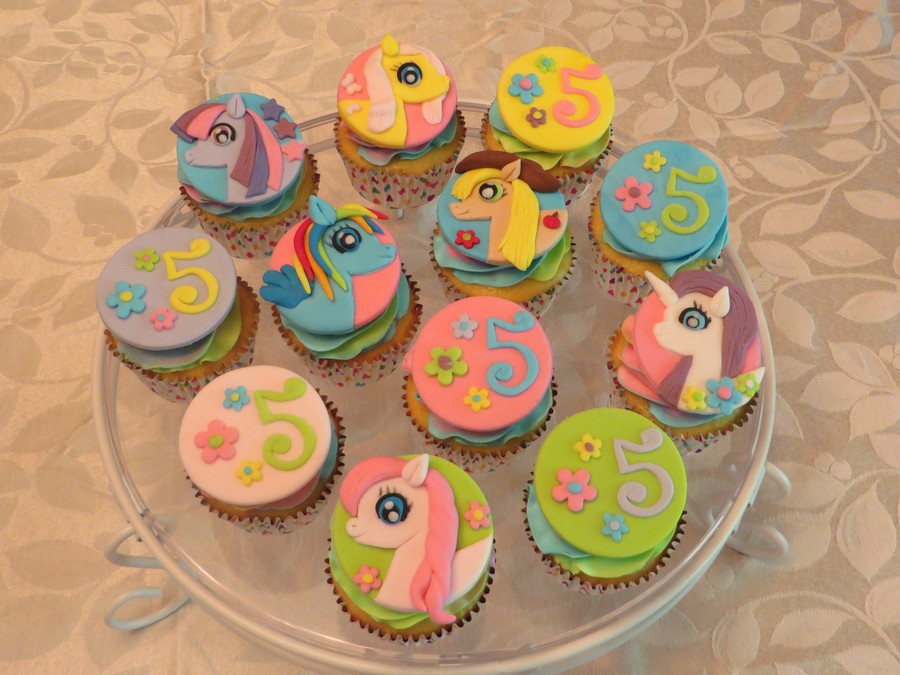My Little Pony Cupcakes  My Little Pony Cupcakes CakeCentral