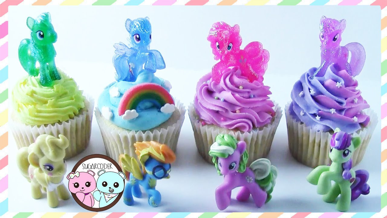 My Little Pony Cupcakes  MY LITTLE PONY CUPCAKES MY LITTLE PONY CAKE BY