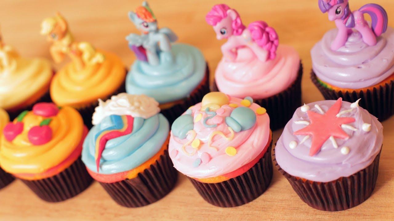 My Little Pony Cupcakes  MY LITTLE PONY CUPCAKES NERDY NUMMIES