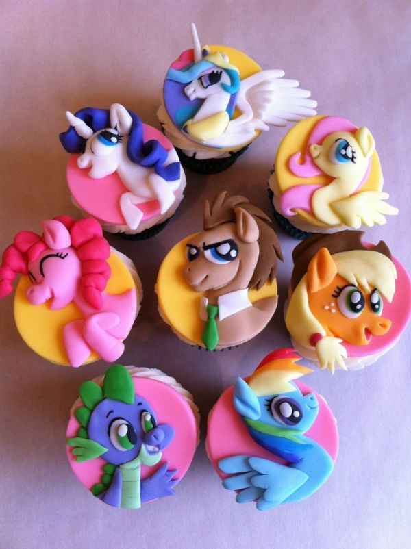 My Little Pony Cupcakes  My Little Pony Cakes – Decoration Ideas