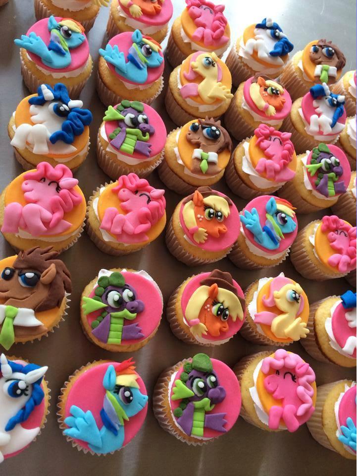 My Little Pony Cupcakes  My little Pony cupcakes by Jarquin10 on DeviantArt