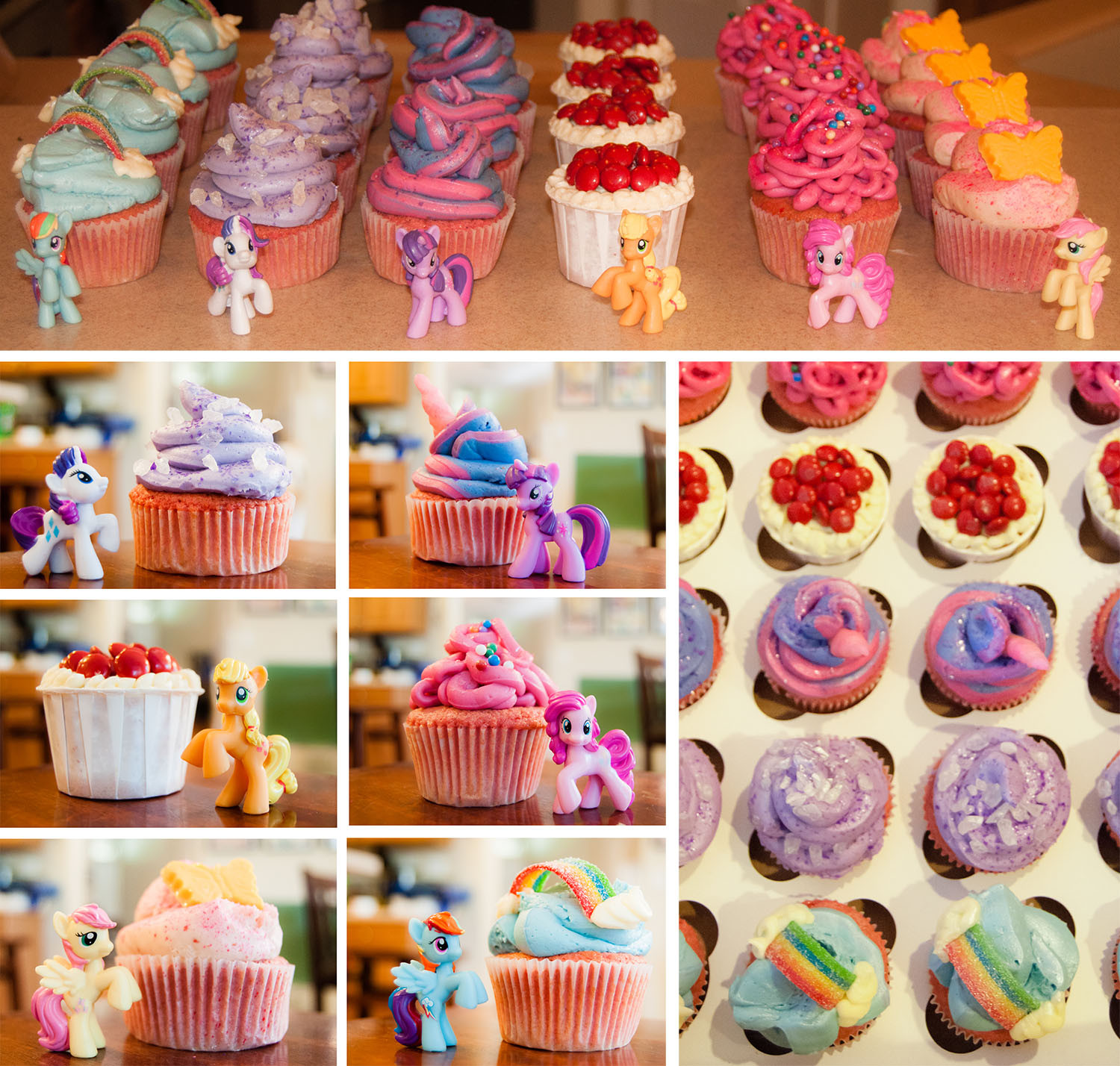 My Little Pony Cupcakes  My Little Pony Friendship is Magic Cupcakes