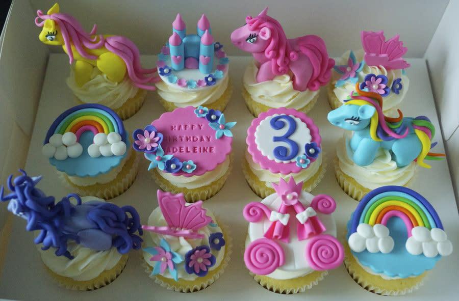 My Little Pony Cupcakes  My little Pony cupcakes cake by Partymatecakes CakesDecor