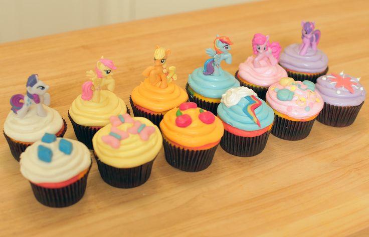 My Little Pony Cupcakes  My Little Pony cupcakes Imagui