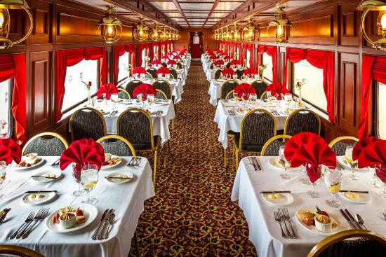 My Old Kentucky Dinner Train  Inside My Old Kentucky Dinner Train Dining Car Picture