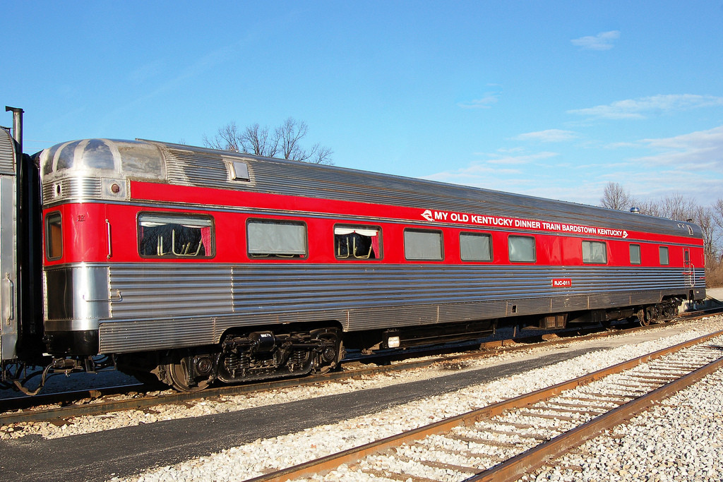 My Old Kentucky Dinner Train  RJ Corman Railroad pany No 011 My Old Kentucky Dinner