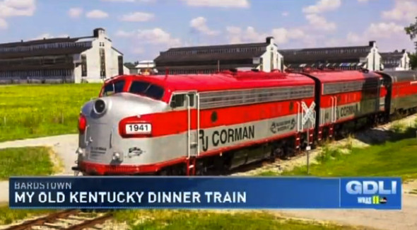 My Old Kentucky Dinner Train  whas11