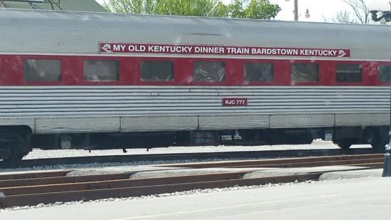My Old Kentucky Dinner Train  Our window view Picture of My Old Kentucky Dinner Train