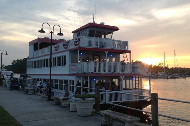 Myrtle Beach Dinner Cruise  Barefoot Princess Riverboat VMB Discount Through Beach