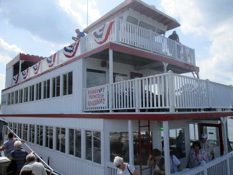 Myrtle Beach Dinner Cruise  Cruise the Intracoastal Waterway of Myrtle Beach on a