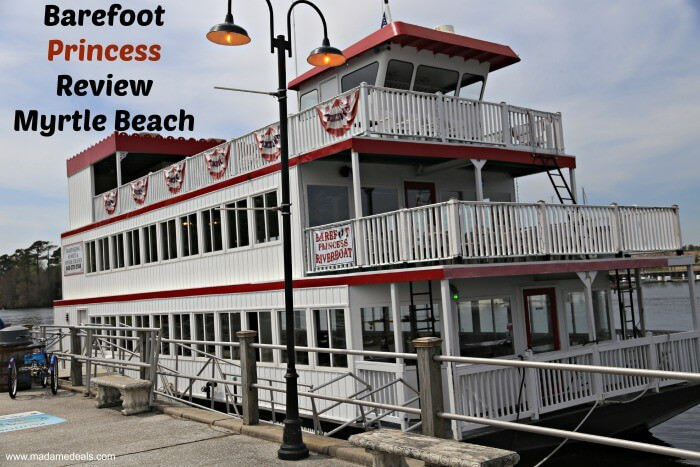 Myrtle Beach Dinner Cruise  Barefoot Princess Riverboat Myrtle Beach Real Advice Gal
