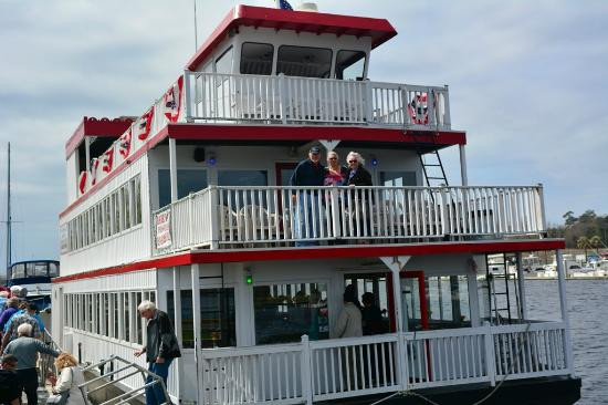 Myrtle Beach Dinner Cruise  River Boat Picture of Barefoot Princess Riverboat North