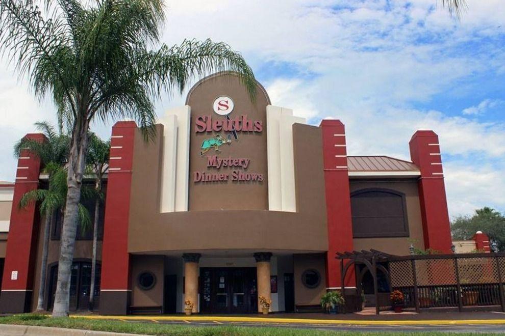 Mystery Dinner Show  Sleuths Mystery Dinner Shows Orlando Restaurants Review