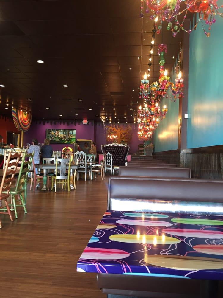 Mystic Dessert Bar  Interior is definitely mystical Yelp