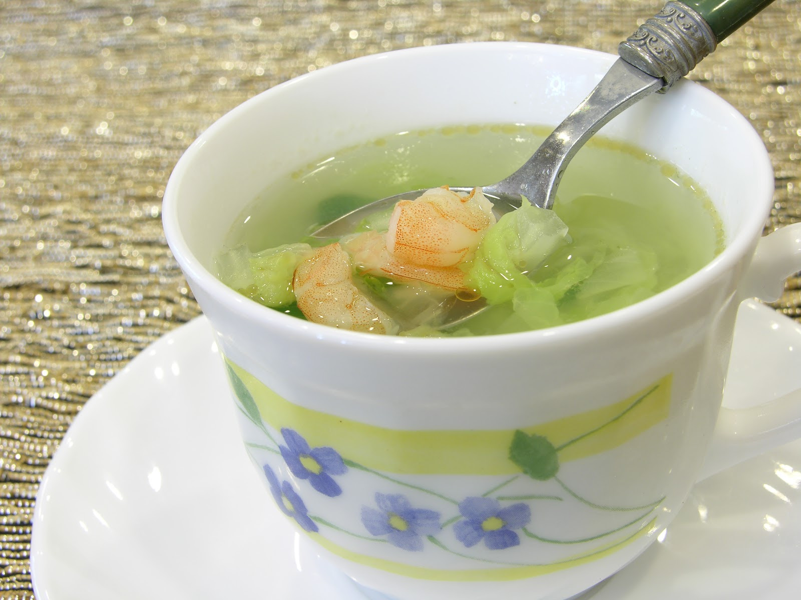 Napa Cabbage Soup  Simple Napa Cabbage Soup with Shrimp in 15 Minutes 虾仁白菜汤