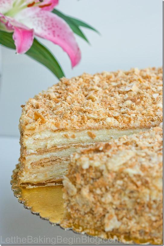 "Napoleon Cake Recipe  Best ""Napoleon"" Cake Ever Let the Baking Begin Let the"