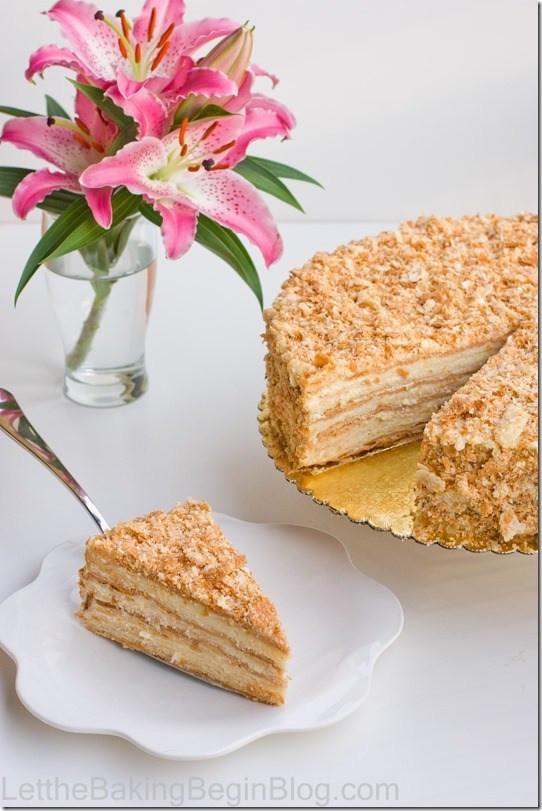 "Napoleon Cake Recipe  Best ""Napoleon"" Cake Ever Let the Baking Begin"