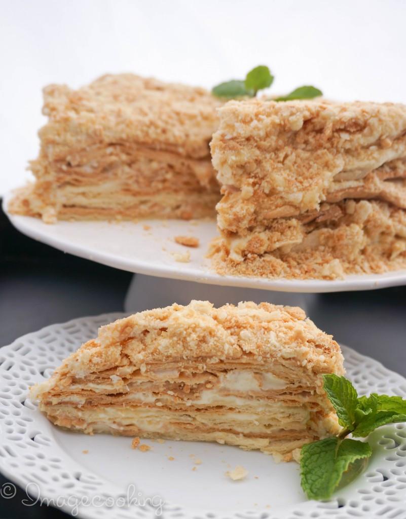 Napoleon Cake Recipe  Napoleon Cake