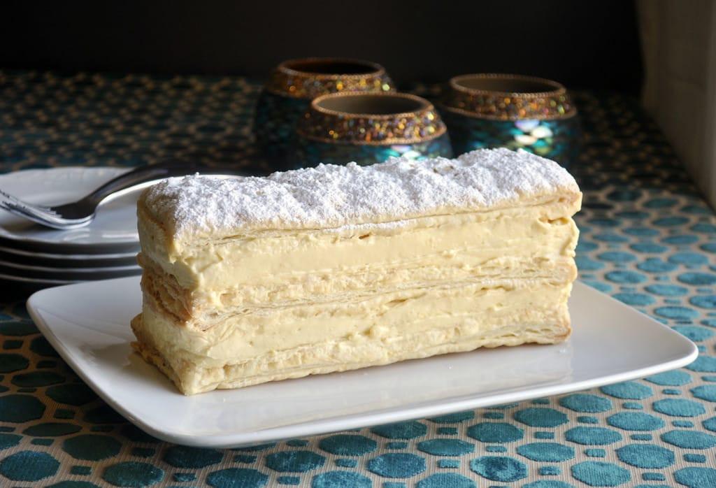 Napoleon Cake Recipe  Napoleon Dessert