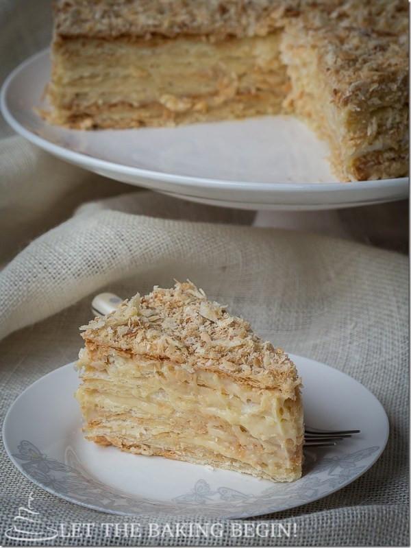 Napoleon Cake Recipe  The King of Napoleons Let the Baking Begin