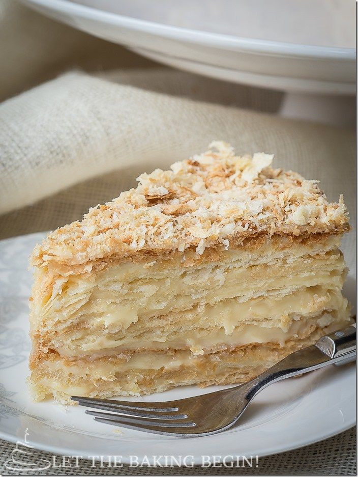Napoleon Cake Recipe  The King of Napoleons Recipe