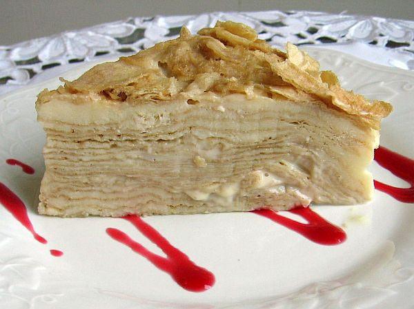Napoleon Cake Recipe  FoodRecipes360 Russian Napoleon Cake Recipe Napoleon Tort