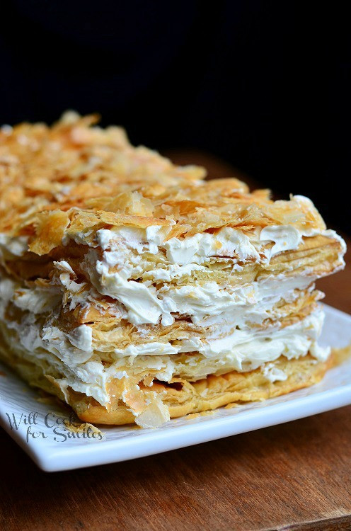Napoleon Cake Recipe  Napoleon Cake Will Cook For Smiles