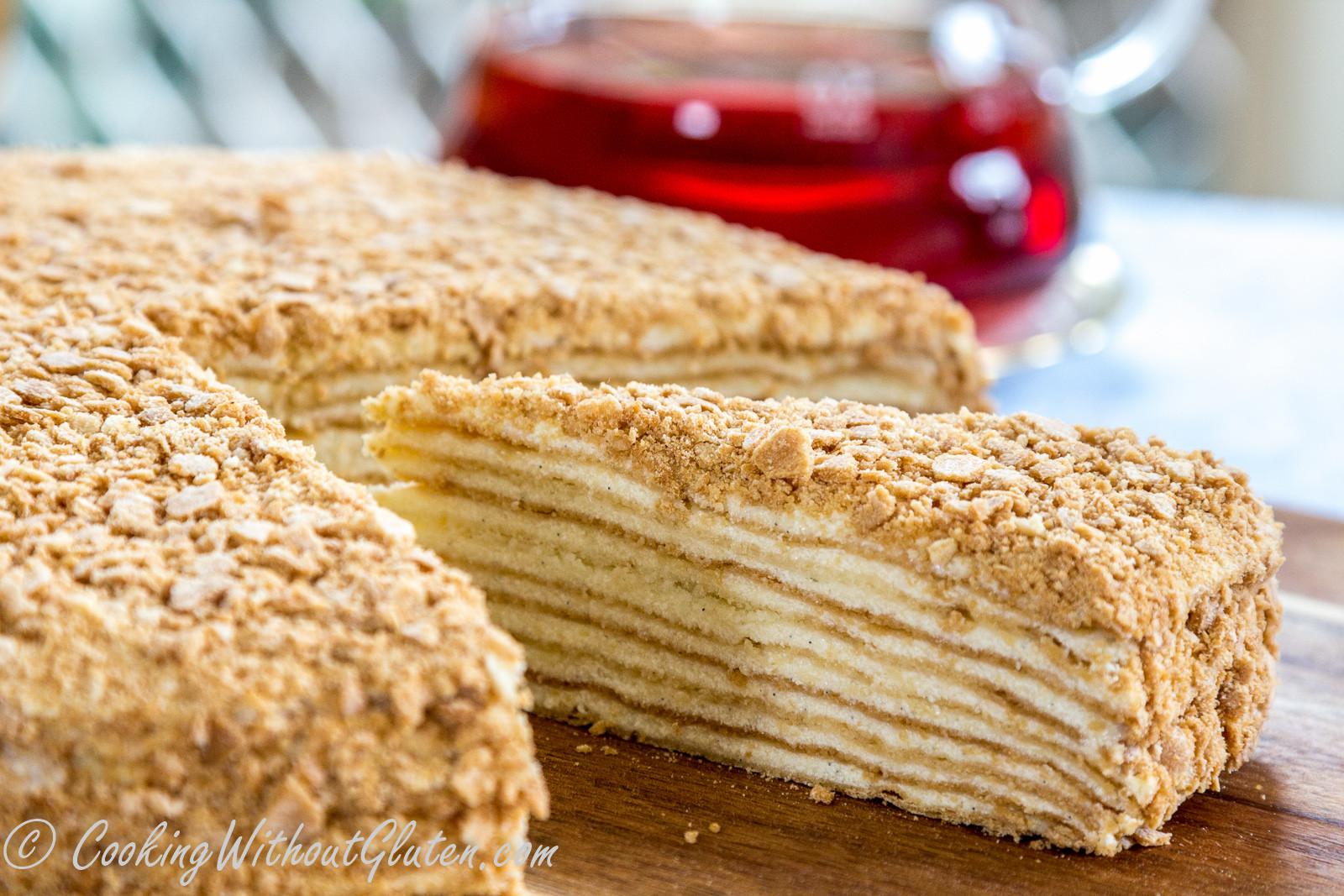 Napoleon Cake Recipe  gluten free napoleon