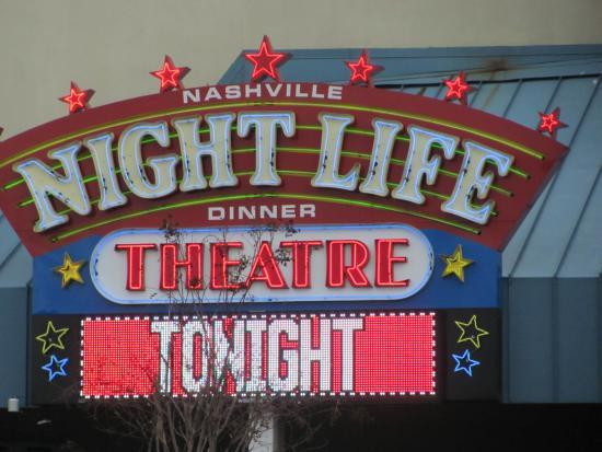 Nashville Nightlife Dinner Theater  Nashville Nightlife Dinner Theatre evening pic Picture