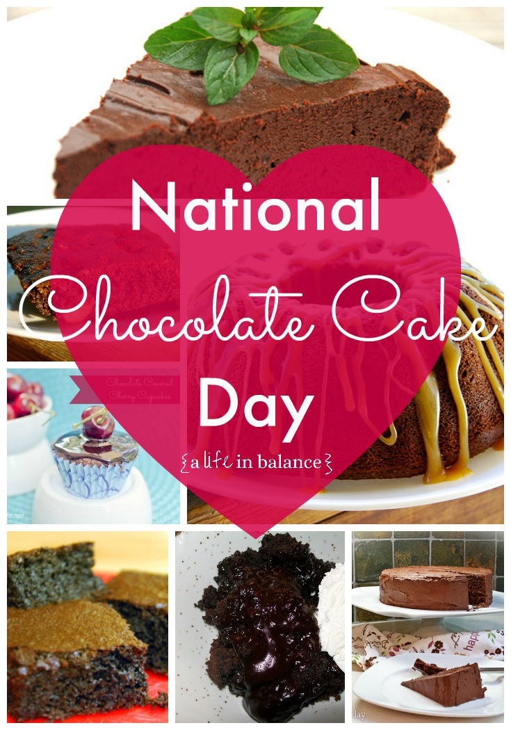 National Chocolate Cake Day  National Chocolate Cake Day 7 Chocolate Cakes