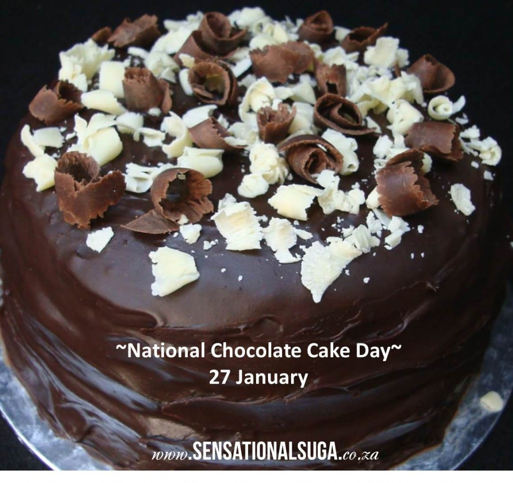 National Chocolate Cake Day  National Chocolate Cake Day Recipe 27 January