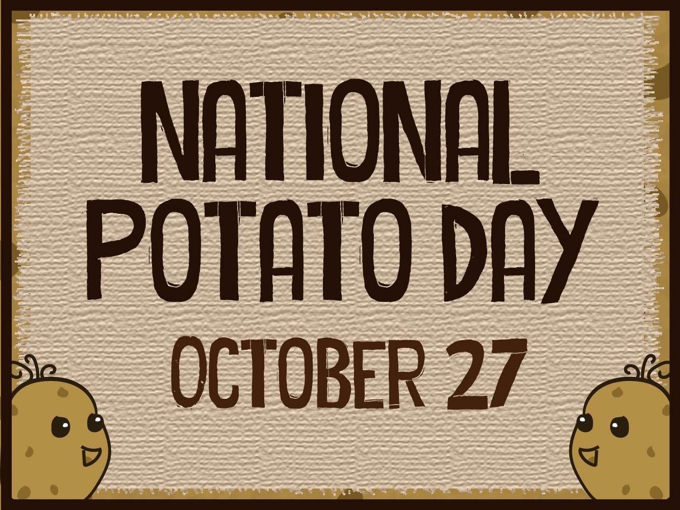 National Potato Day  Dining Dining Western Illinois University