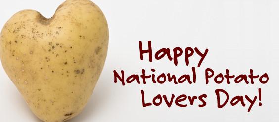 National Potato Day  Saiprojects National Potato Lovers Day today February