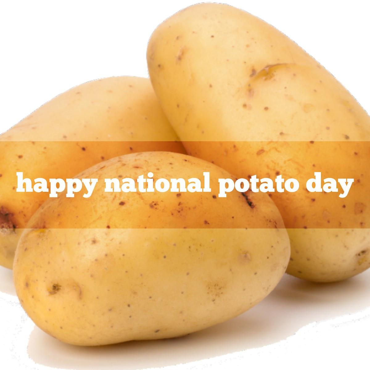 National Potato Day  national potato day