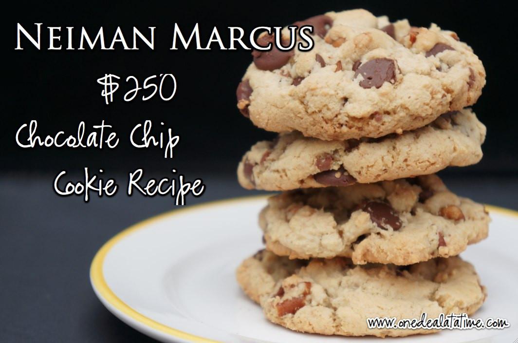 Neiman Marcus Cookies Recipe  Neiman Marcus $250 Chocolate Chip Cookie Recipe MyLitter
