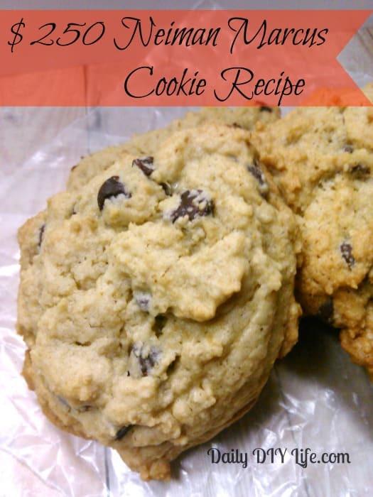Neiman Marcus Cookies Recipe  Neiman Marcus Chocolate Chip Cookies Recipe