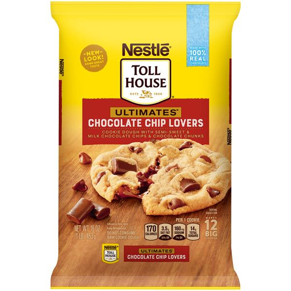 Nestle Toll House Chocolate Chip Cookies  Nestle Toll House Ultimates Chocolate Chip Lovers Cookie