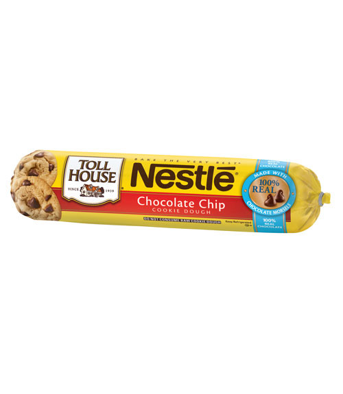 Nestle Toll House Chocolate Chip Cookies  Nestlé Toll House Chocolate Chip Cookie Dough Review