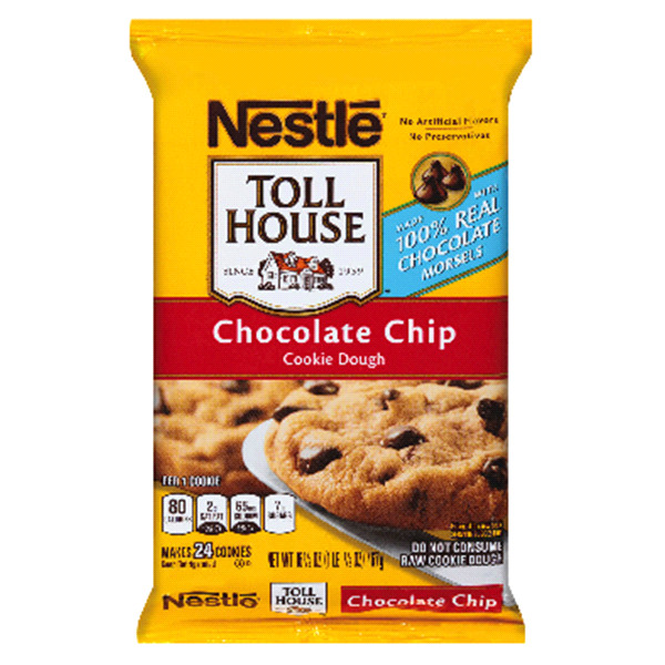 Nestle Toll House Chocolate Chip Cookies  Nestle Toll House Chocolate Chip Pie Nutrition Facts