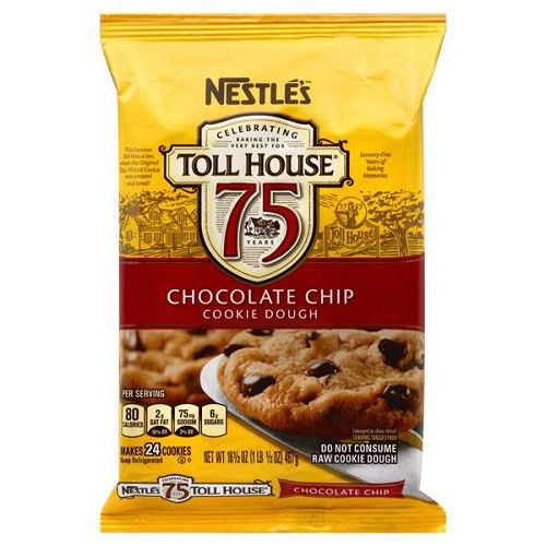 Nestle Toll House Chocolate Chip Cookies  Nestle Toll House Cookie Dough Chocolate Chip 16 5 oz pkg