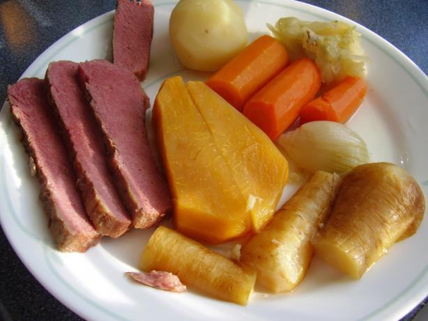 New England Boiled Dinner  Crock Pot New England Boiled Dinner Recipe Food